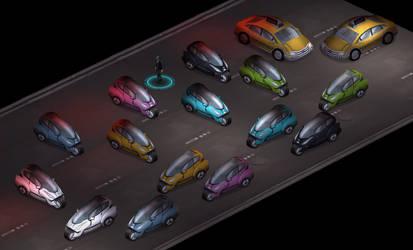 Nissan-Chrysler Jackrabbit. by johnnymemphis
