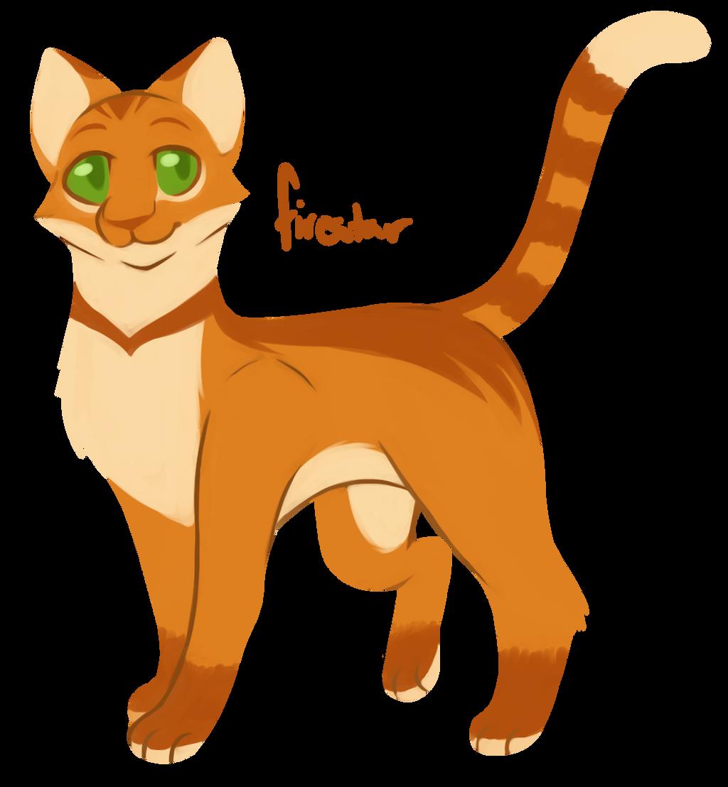 [100 WARRIOR CATS CHALLENGE] #1 - Firestar by toboe5tails ... Warrior Cat Drawings Firestar