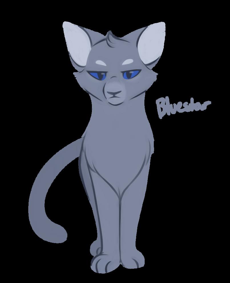 [100 WARRIOR CATS CHALLENGE] #2 - Bluestar by toboe5tails ... Warrior Cat Drawings Bluestar