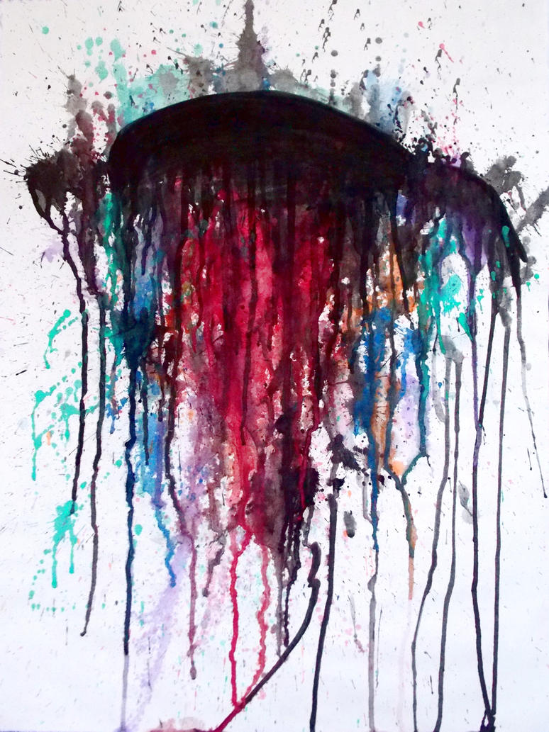 Abstract Jellyfish by Kris-L-H on DeviantArt
