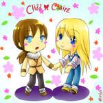 Chibi CliffxClaire