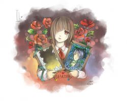 Ib- the forgotten portrait by christon-clivef