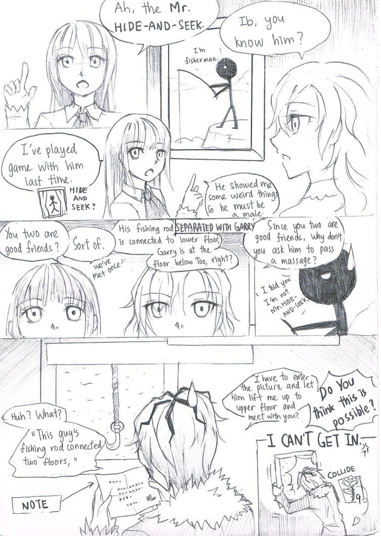 Ib- A little help by christon-clivef