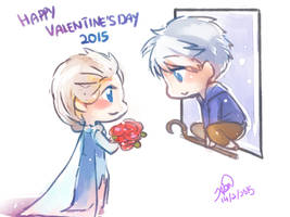 doodle-happy valentine's day 2015 by christon-clivef
