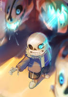 Undertale- You're gonna have a bad time by christon-clivef