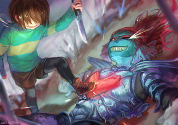 Undertale- I won't give up HOPE by christon-clivef