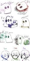 Undertale- doodles 2