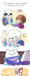 Undertale- gifts 01 by christon-clivef