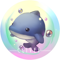 Badge Small Dolphin