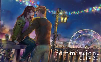 Commission- Night city