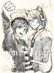 Commission- Haruki and Ethan