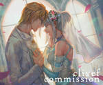 Commission- Sierra wedding day