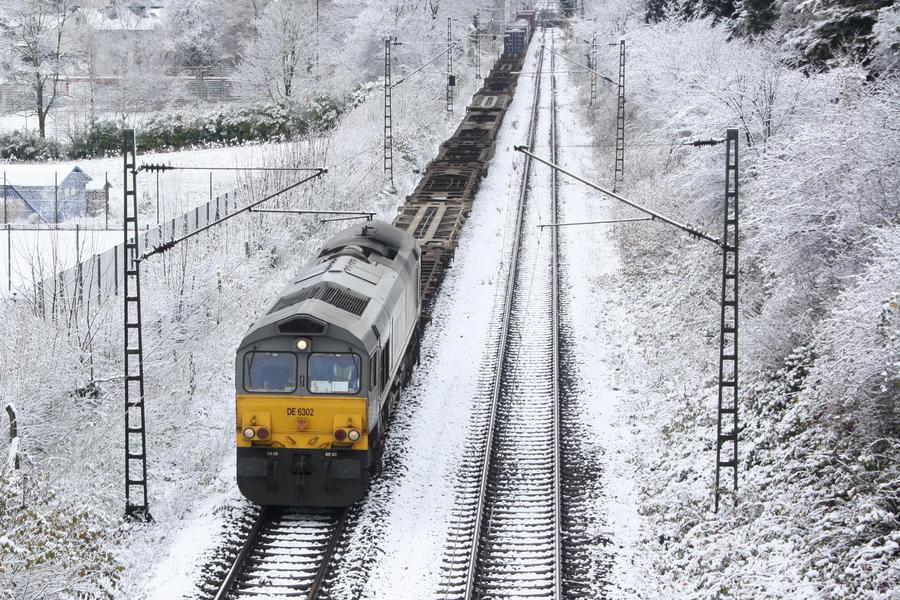 66 in Snow by ZCochrane