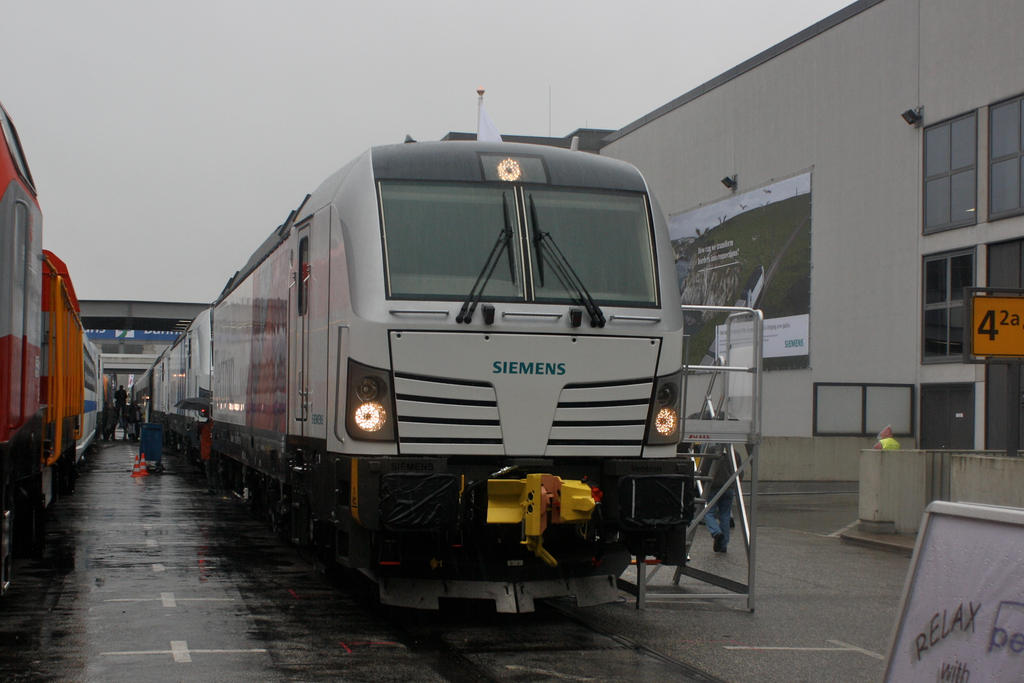Innotrans 2010 - Vectron DC by ZCochrane