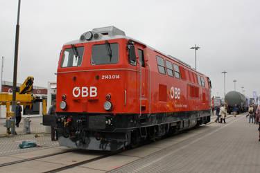 Innotrans 2010 - OeBB 2143 by ZCochrane