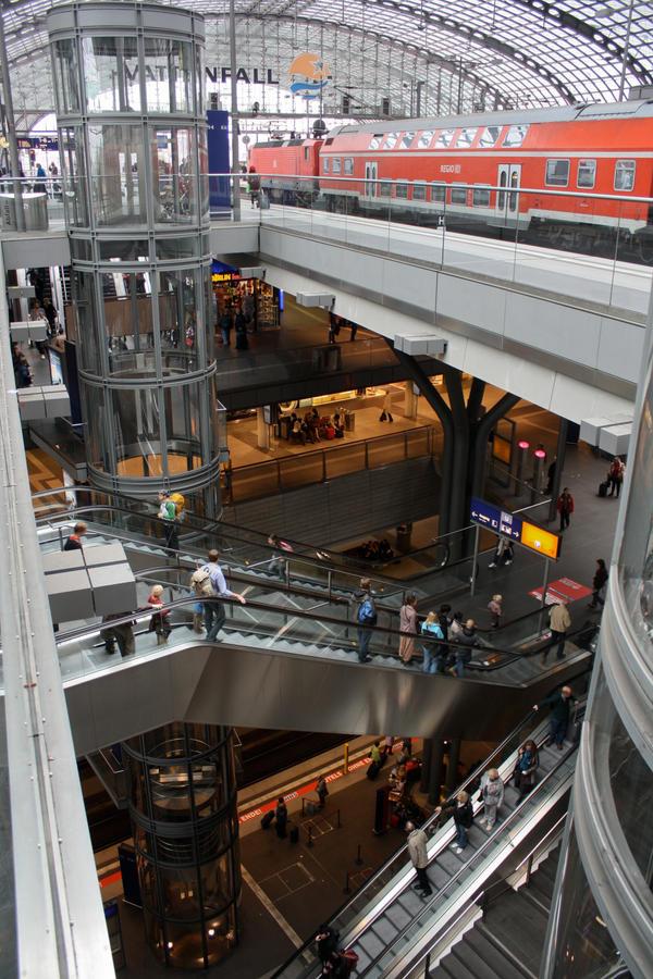 Berlin Central Station by ZCochrane