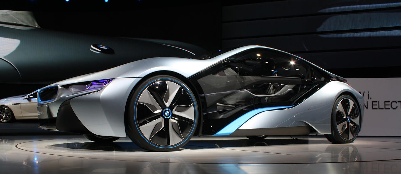 IAA 2011 - BMW i8 Concept by ZCochrane on DeviantArt