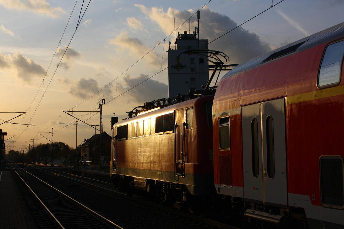Lindern station by ZCochrane