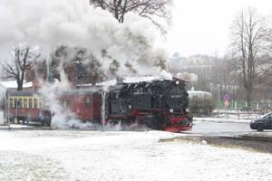 Modern Steam in Gernrode by ZCochrane