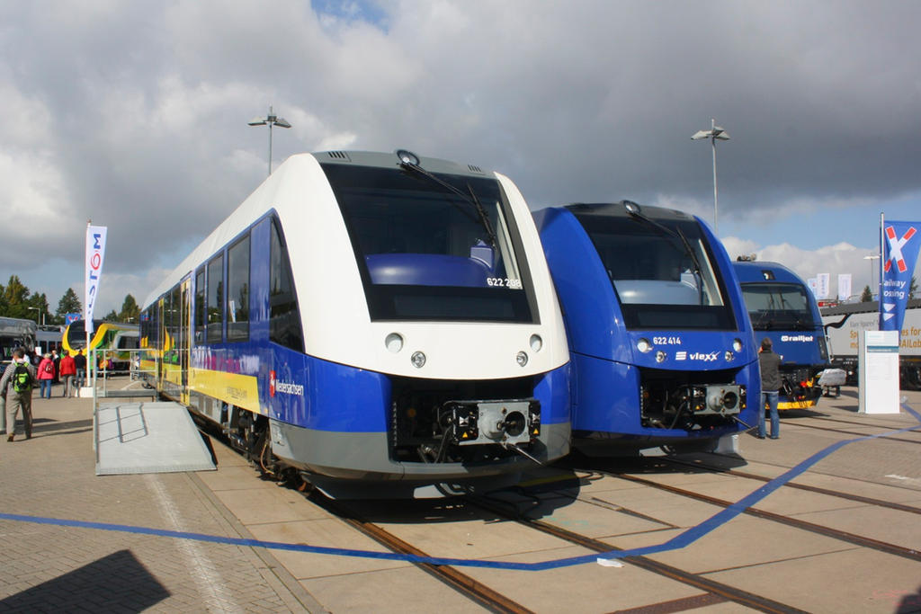 Innotrans 2014 - Alstom Coradia LINT 54 by ZCochrane