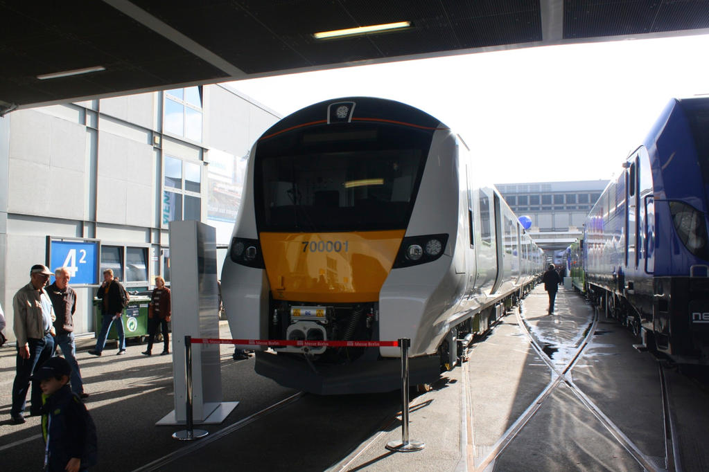 Innotrans 2014 - Siemens Desiro City Thameslink by ZCochrane