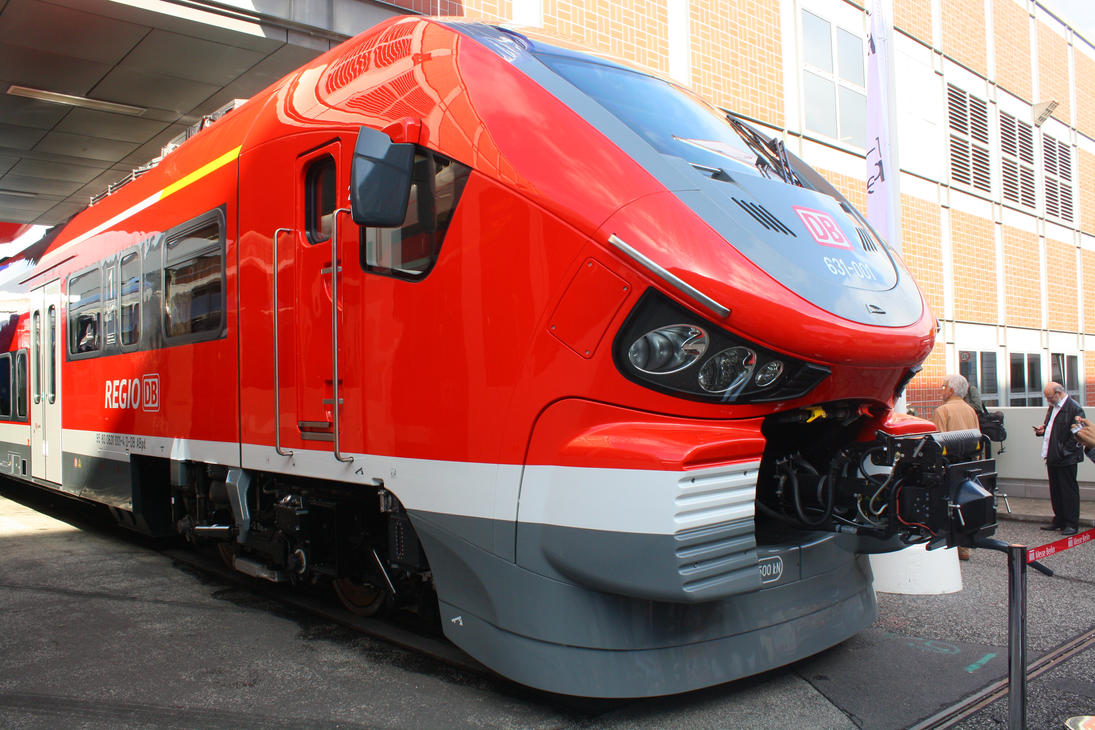 Innotrans 2014 - Big Red Shark by ZCochrane