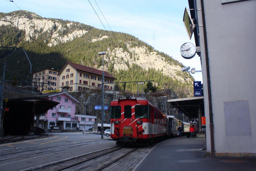 Goeschenen station by ZCochrane