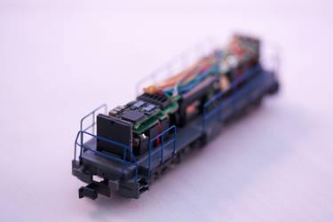 Model railroad internals by ZCochrane