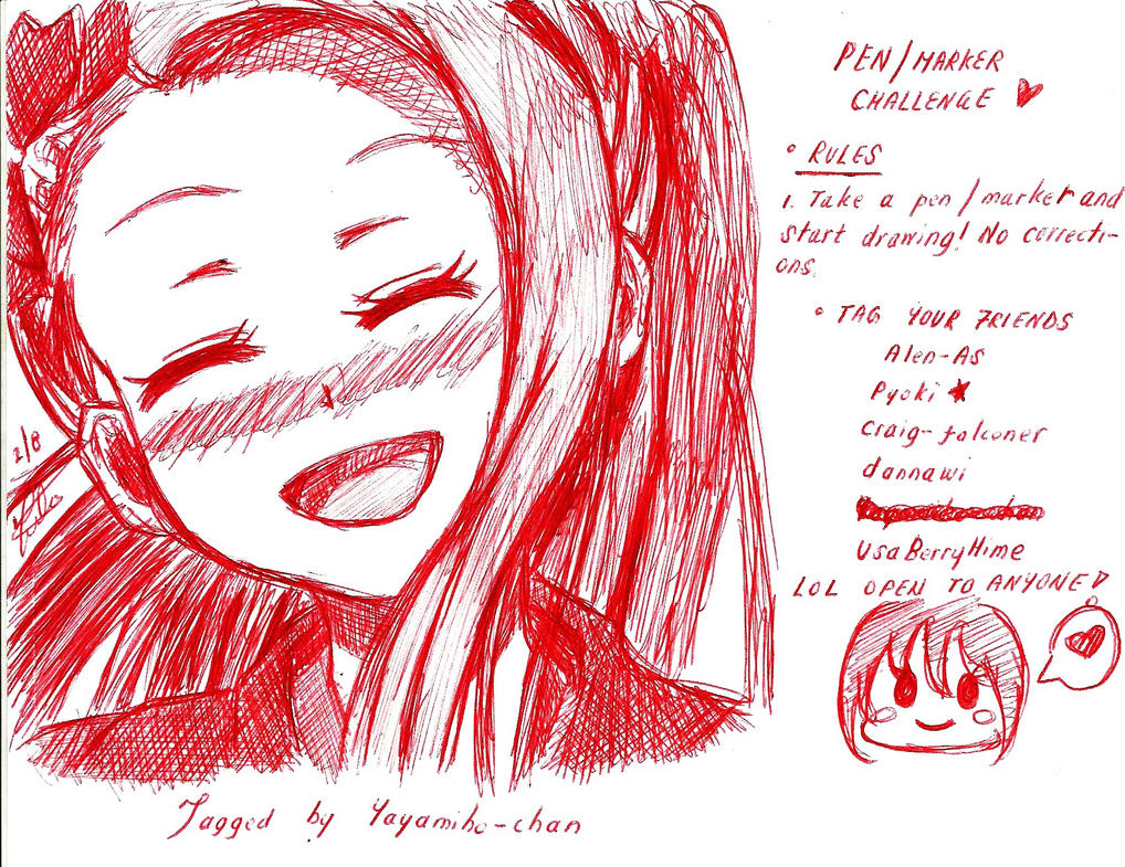 ~Draw w/ Pen MEME!~ by YuukiCross5