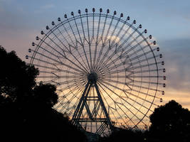 It Is a Large Wheel