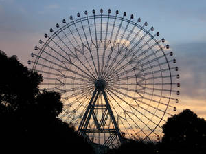 It Is a Large Wheel