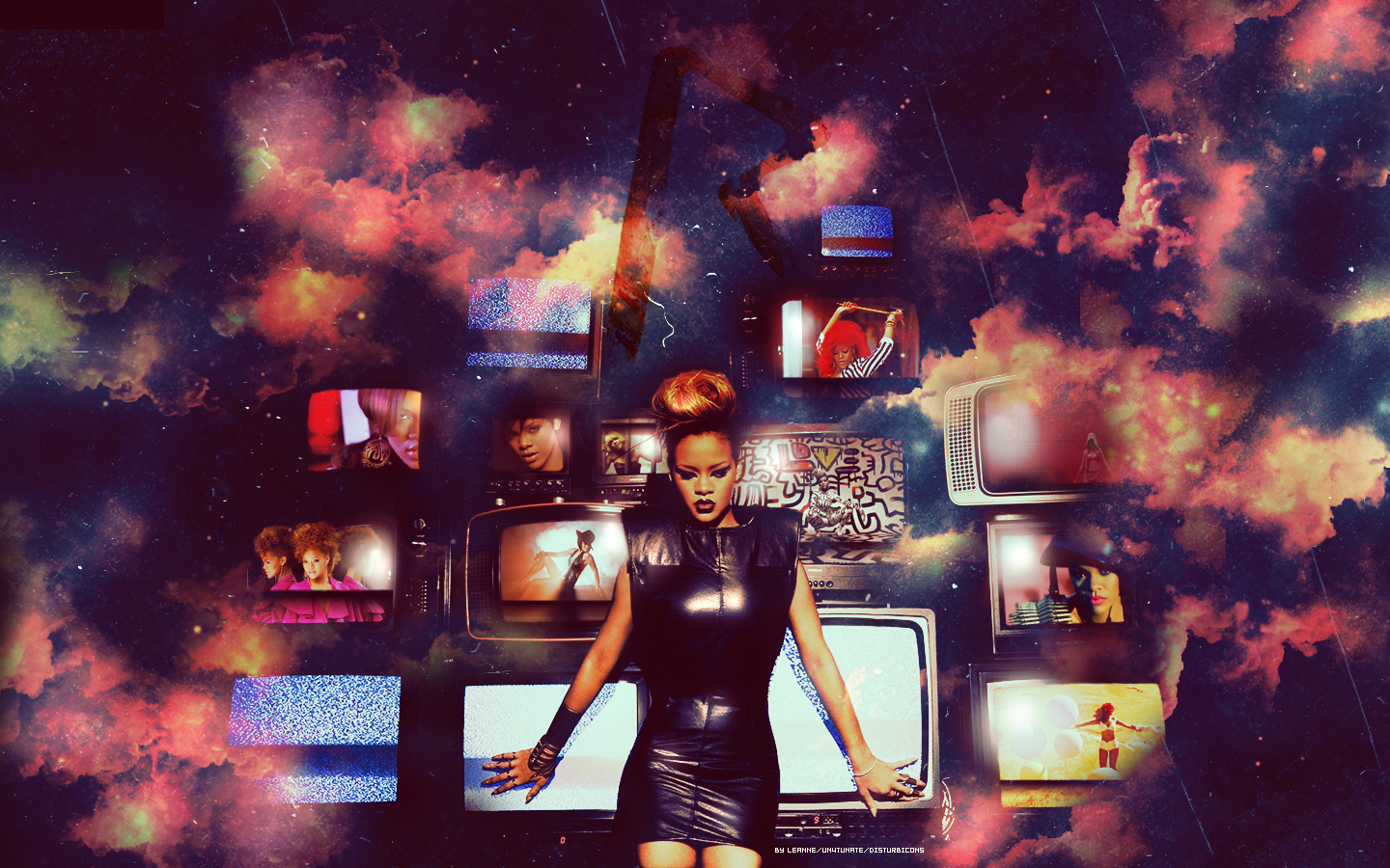 rihanna wallpaper 2hookybegood on deviantart