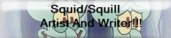 Squid/Squill Artist and Writer Button by Growlie26