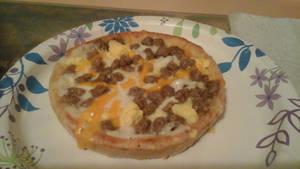 Breakfast pizza by Growlie26