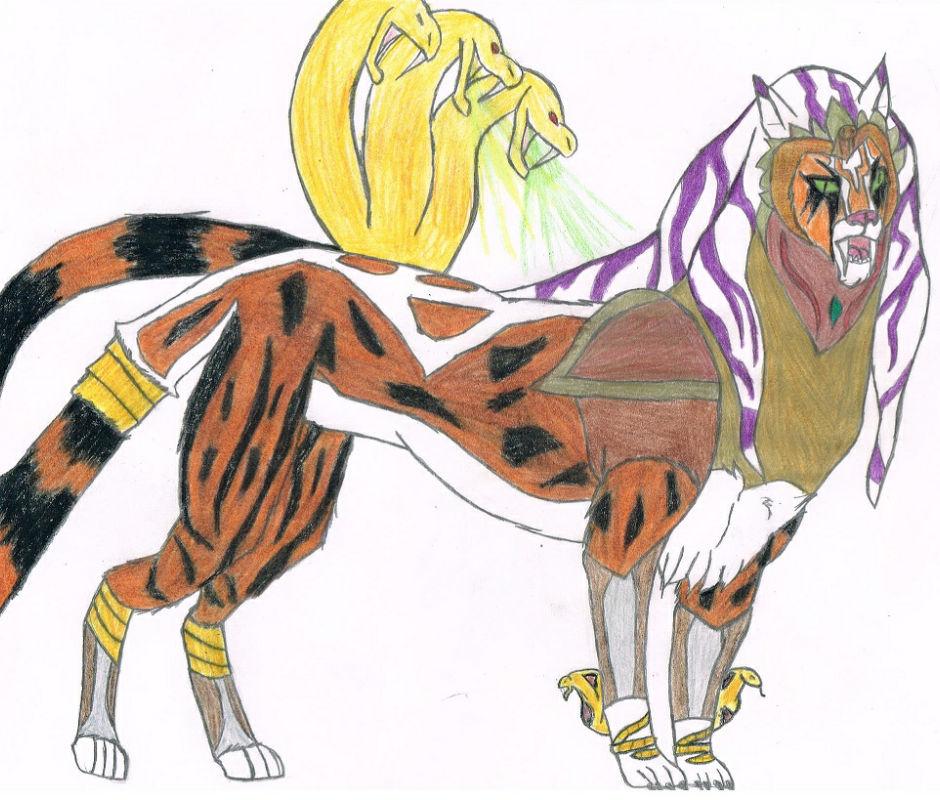 Feralpatra's legendary form: Nilegruta