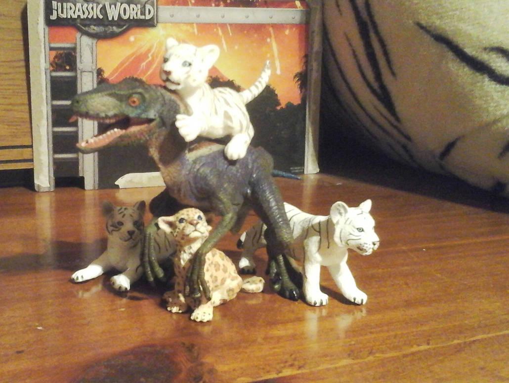 Kitty Pile by Growlie26