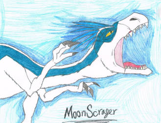 Moonscraper drawing by Growlie26