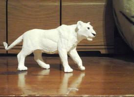 My newly painted Safari Ltd Lioness