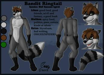 Bandit Ref Sheet by BanditRingtail3