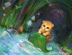 Cat's adventure