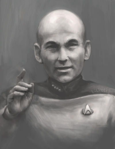 Picard - Engage by lilythescorpio on DeviantArt