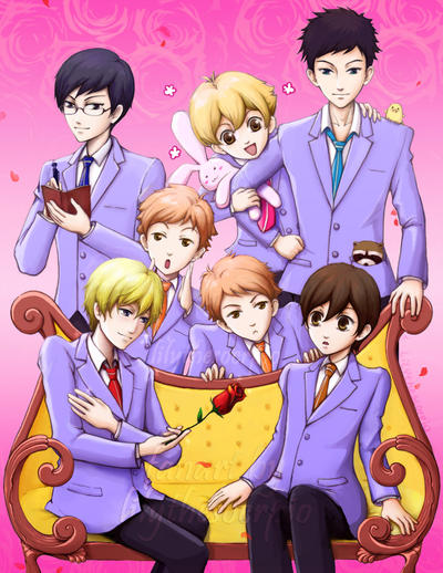 Ouran High School Host Club by lilythescorpio