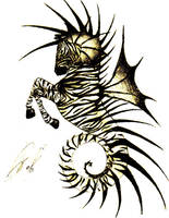 sea zebra by theselessthan3s