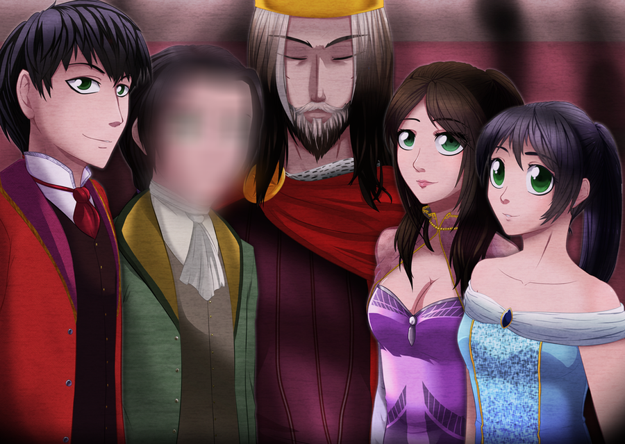RegicideOCT- Royal Family Portrait by Sakura-wind