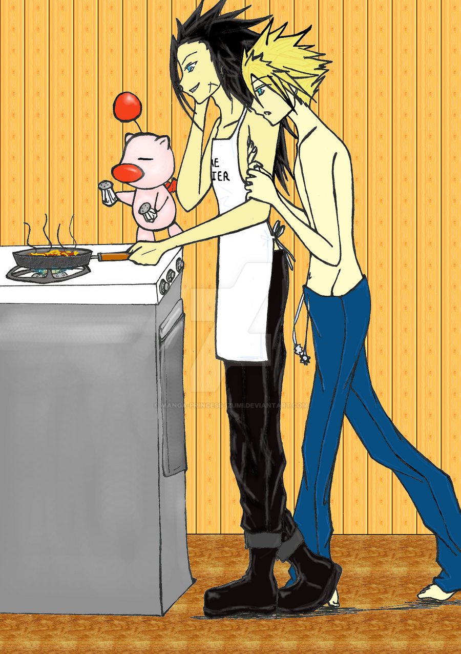 You can cook coloured by manga princess izumi on deviantart