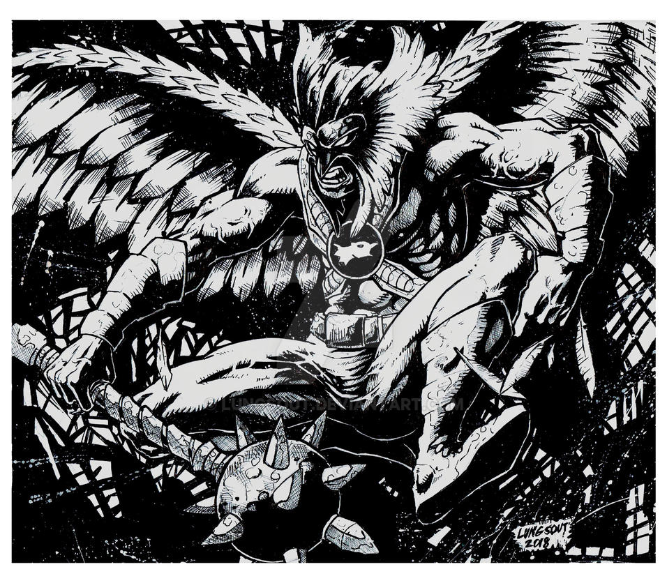 HAWKMAN by lungsout