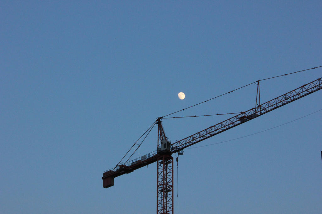 Moonlit Construction by jazzy444