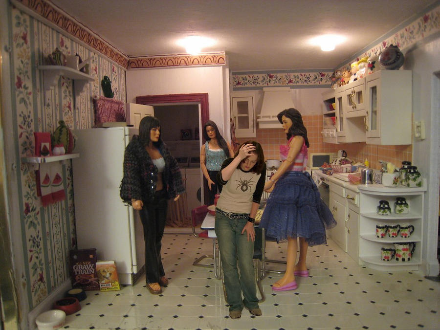 Trapped in the dollhouse by mrsenoreddie on deviantart for The charmed kitchen