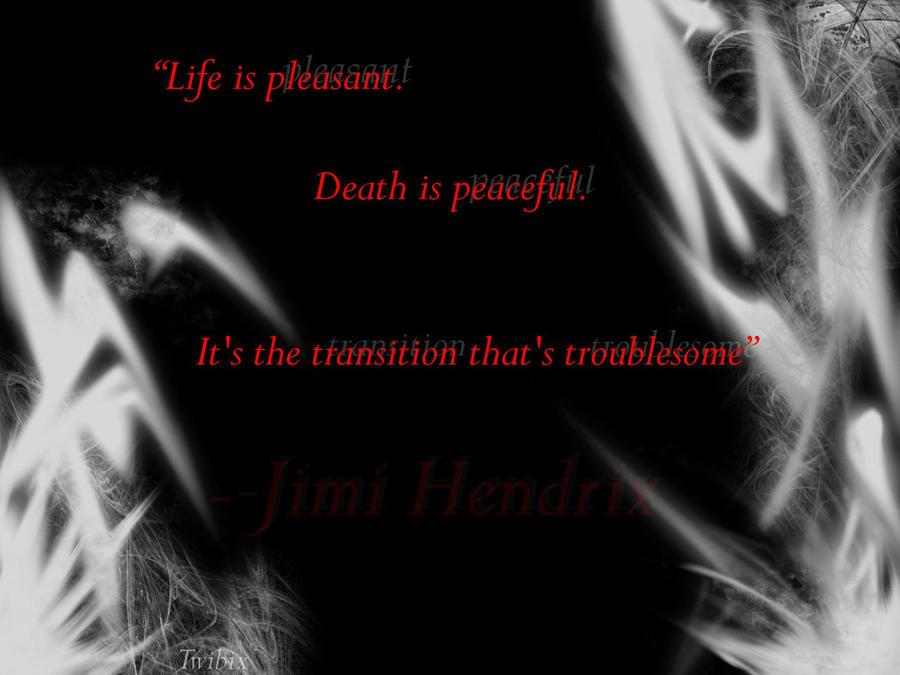 Jimi Hendrix Quotes Wallpaper Jimi Hendrix Quote by Twibix