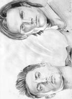 Dean and Sam by jettblackfeeling